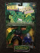 Toy Biz The Incredible Hulk Outcasts Leader-Hulk W Gargoyle MOC 1997 UPN Kids