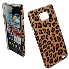 Design 3 Handy Hülle Back Cover für Samsung i9100 Galaxy S2 + Displayschutzfolie