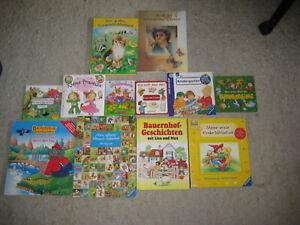 12 Bilderbücher für Kleinkinder