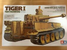 Tamiya Maqueta,escala 1/35,TIGER I Ausfuhrung Afrika,ref.35227