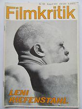 Critique NR 188, août 1972, Leni riefenstahl,