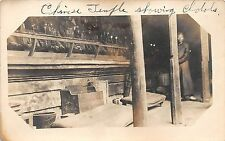 C24/ China Foreign Real Photo RPPC Postcard c1910 Chinese Temple Idols