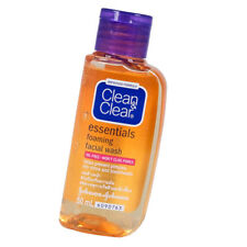 50ml Clean & Clear Oil Free Foaming Facial Face Wash Prevent Blemish Travel Size