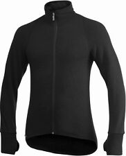 Woolpower Full Zip Jacket 600g Black and Green