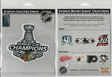 2013 CHICAGO BLACKHAWKS STANLEY CUP CHAMPIONS PATCH NHL OFFICIALLY LICENSED