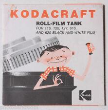 Kodak Kodacraft Roll Film Tank Manual Instruction Book - English - USED B48