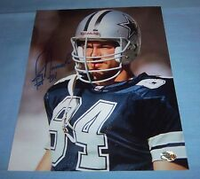 Dallas Cowboys Jay Novacek Signed Autographed 8x10 Photo Wyoming