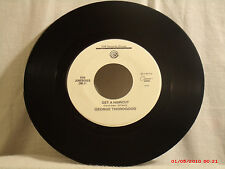 GEORGE THOROGOOD -(45)- GET A HAIRCUT / GONE DEAD TRAIN-FOR JUKEBOXES ONLY -1994