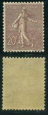 "FRANCE  N° 131  ""  SEMEUSE LIGNEE 20c  BRUN-LILAS 1903  ""  NEUF TTB"