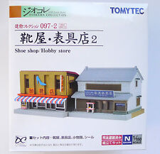 Tomytec N Scale 266020 Building 097-2 Shoe Shop & Hobby Store