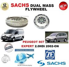 FOR PEUGEOT 807 + EXPERT 2.0HDi + 16V 2002> SACHS DMF DUAL MASS FLYWHEEL & BOLTS