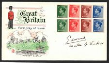 Ed Viii - 1936 cover signed Edward Duke of Windsor with letter of authenticity.