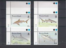 TIMBRE STAMP  4  PITCAIRN Y&T#385-88 POISSON REQUIN NEUF**/MNH-MINT 1992  ~A19