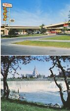 Falls View Motel ~ Idaho Falls ID Idaho ~ AAA Vintage Postcard