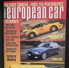 European Car Magazine: March - 1995 - Porsche 930 Twin Turbo - BMW 316ti  - XJR