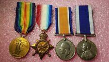 Wwi Royal Navy Disting Svc Medal Set World War Hms Cumberland H.E. Bailey 16750