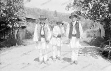 Hungarian-Hungary-Bauer-Tracht-Personen-Land-Leute-1930-45-