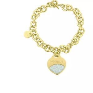 Ops Objects Bracciale Donna Collezione Glitter Oro Cuore  OPSBR-351