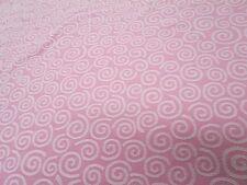 Pindler & Pindler Fabric Pattern Gabanna Color Blush Cotton 33 In x 27 In Swirls