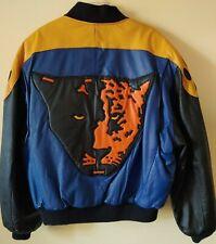Vintage Michael Hoban WhereMi Panther Leather Jacket - Size Large