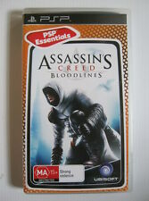 ASSASSIN'S CREED Bloodlines - PSP UMD GAME - GC - Manual