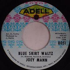 JOEY MANN: Blue Skirt Waltz RARE Country Rock 45 ADELL Michigan Private HEAR