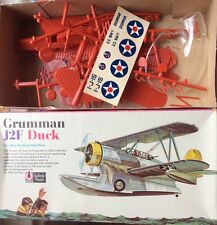 VINTAGE RINGO TOY CORP 1/48th Scale Grumman J2F Duck Seaplane Plastic Model Kit