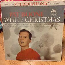 PAT BOONE WHITE CHRISTMAS DOT RECORDS DLP 3222