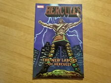 Rare Copy Of Hercules: The New Labors Of Hercules Tpb Graphic Novel! Marvel!