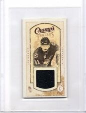 2009-10 Upper Deck Champs Hockey Steven Stamkos Mini Threads Jersey Card # MT-SS