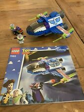 LEGO Toy Story 7593 Buzz's Star Command Spaceship (2010) Missing One Fig
