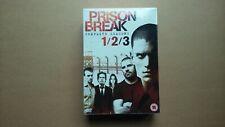 Prison Break - Complete Series 1, 2 & 3 (15 Disc DVD Box Set) NEW & SEALED