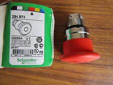 Cabeza de botón rojo Schneider Eléctrico, 40 mm Mush Tire ZB4BT4 P4 4258499