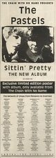 3/6/89Pgn35 Advert: The Pastels 'sittin' Pretty' The New Album Out Now 15x5
