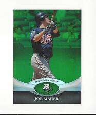 2011 Bowman Platinum Emerald #49 Joe Mauer Twins