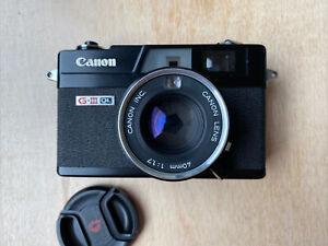 Canon Canonet QL-17 G-III 35mm Rangefinder Film Camera Black