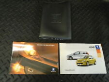 2005 PEUGEOT 206 1.6 XSi 3DR OWNERS MANUAL HANDBOOK WITH WALLET