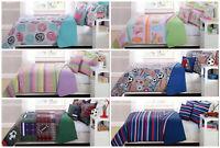 Kids Essentials 3-4 Piece Soft Quilt Coverlet Set with Dec Pillow - Twin/Full