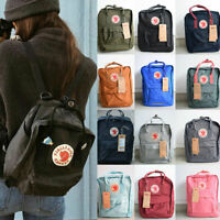 Unisex 7L/16L/20L Fjallraven Kanken Backpack Travel spalla scuola borse Bag c1