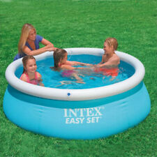 Intex 28120EH 6ft x 20in Easy Set Inflatablex Pool With Inflation air pump