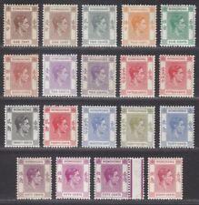 Hong Kong 1938-52 King George VI Part Set to 80c Mint