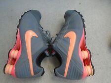Womens Nike Shox corral / gray running shoes sz 8