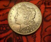 1887 CH BU Gem Morgan Silver Dollar Coin Rare Gorgeous MS+++ ProofLike Beauty!