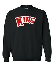Red King couple Unisex Sweatshirt Unisex Crewneck Sweatshirt