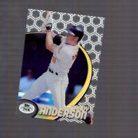 Brady Anderson 1998 Topps Tek Card 16 Pattern 51 Baltimore Orioles