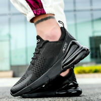 Men's Outdoor Running 270 Athletic Flyknit Air Cushion Sports Shoes Sneakers