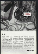 BOEING AIRCRAFT CORP  FLYING FORTRESS ALL PARTS INSPECTED EACH PLANE 1944 AD