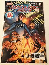 Fantastic Four #60 (Signed by Mike Wieringo) [Vol 3] Marvel Comics w/COA NM