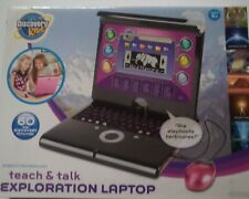DISCOVERY KIDS TEACH & TALK EXPLORATION LAPTOP, COLOR PINK , NEW