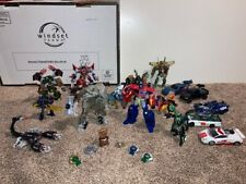 Lot of Authentic Hasbro Transformers Franchise Figures (used)